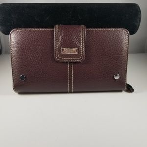 NEW Buxton Westcott Zip Organizer Clutch Wallet